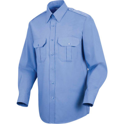 Horace Small™ Sentinel® Unisex Basic Security Long Sleeve Shirt Medium Blue L367 - SP56