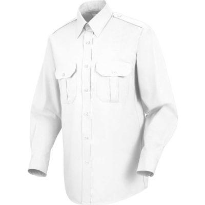 Horace Small™ Sentinel® Unisex Basic Security Long Sleeve Shirt White XXL367 - SP56
