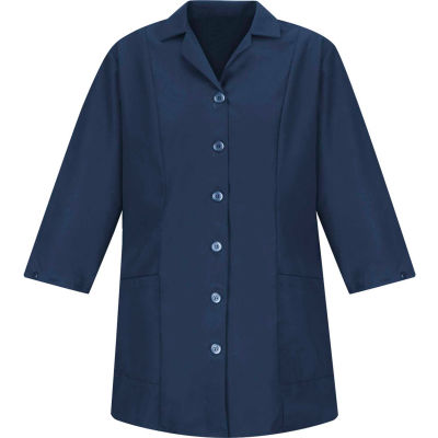 Red Kap® Women's Smock Fitted Adjustable 3/4 Sleeve Navy Regular-XL - TP11
