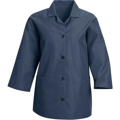 Red Kap® Women's Smock 3/4 Sleeve Navy Regular-S - TP31