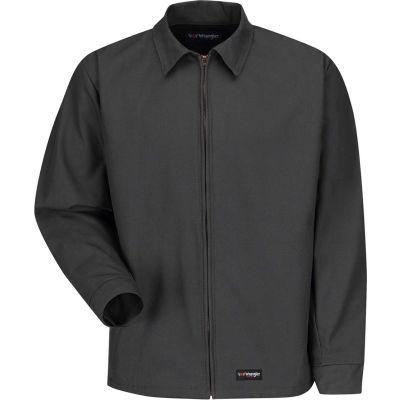 Wrangler® Men's Canvas Work Jacket Charcoal WJ40 Regular-3XL WJ40CHRG3XL