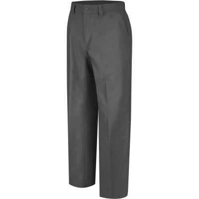 Wrangler® Men's Canvas Plain Front Work Pant Charcoal WP70 48x34-WP70CH4834