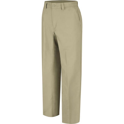 Wrangler® Men's Canvas Plain Front Work Pant Khaki WP70 34x32-WP70KH3432