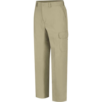 Wrangler® Men's Canvas Functional Cargo Pant Khaki WP80 42x34-WP80KH4234