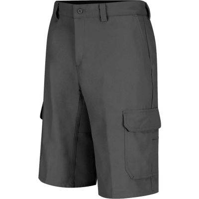 Wrangler® Men's Canvas Functional Cargo Short Charcoal 46x12 - WP90CH4612