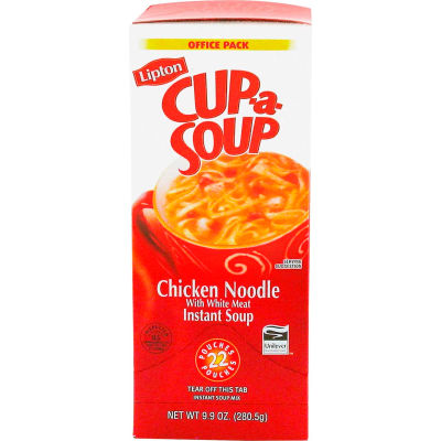 Cup-A-Soup - Chicken Noodle, 22 ct size, 4 ct pack