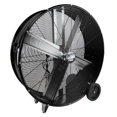"MaxxAir™ Pro Series 30"" Direct Drive Portable Barrel Fan, 5500 CFM, Black, BF30DDBLKPRO"