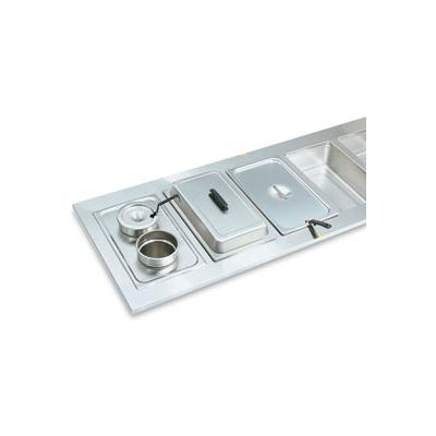 """Adaptor Plate With Two 6-3/8"""" Holes - Pkg Qty 4"""