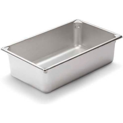 """Vollrath, Super Pan V Stainless Steam Table Pan, 30062, 6"""" Depth, 1/1 Size - Pkg Qty 6"""