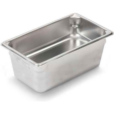 "Vollrath, Super Pan V Stainless Steam Table Pan, 30462, 6"" Depth, 1/4 Size - Pkg Qty 6"