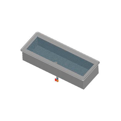 4 Cold Pan Short Side Drop-in Non-Refrigerated