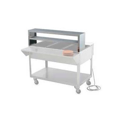 "Servewell® Double Deck Overshelf 46-1/2"""