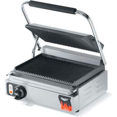 Vollrath, Cayenne Cast Iron Panini Style Plate Sandwich Press, 40794, US Only, 1800 Watts