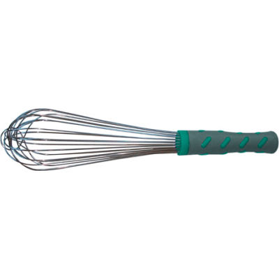 """20"""" French Whip With Hi-Temp Handle - Pkg Qty 12"""