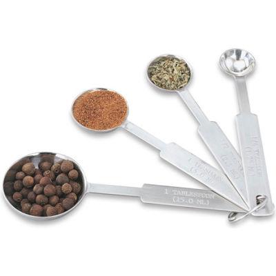 4 Piece Measuring Spoon Set - Pkg Qty 12