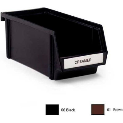 "Vollrath, Self-Serve Dispenser System, 4806-06, 11-1/4"" Bin, Black"