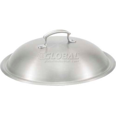 """Vollrath, Miramar 12"""" High Dome Cover, 49426, Fits 49418 And 49425, Satin Finish"""