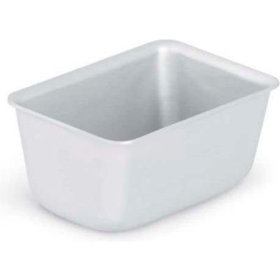 """Vollrath, Wear-Ever Professional Standard Strength Loaf Pan, 5431, Natural, 3-3/8"""" X 5"""" X 2-1/2"""" - Pkg Qty 12"""