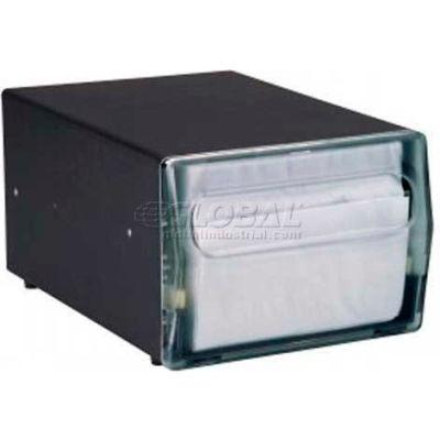 Vollrath, One Sided Napkin Dispenser, 5512-12, Counter Top, Walnut