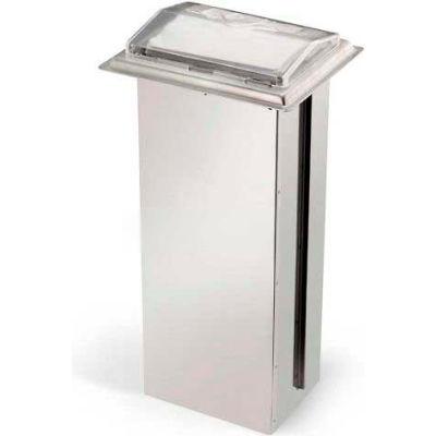 Vollrath, Napkin Dispenser, 6535-13, Limited In-Counter, Chrome