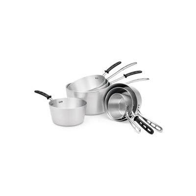 7 Qt Sauce Pan With Black Handle - Pkg Qty 6