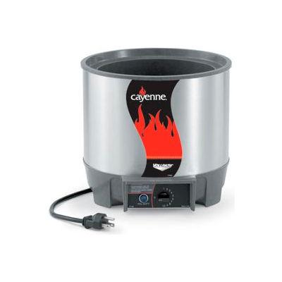 Cayenne® Round Heat 'N Serve - 7 Qt. Unit
