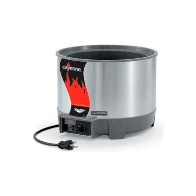 Cayenne® Round Heat 'N Serve - 11 Qt. Unit