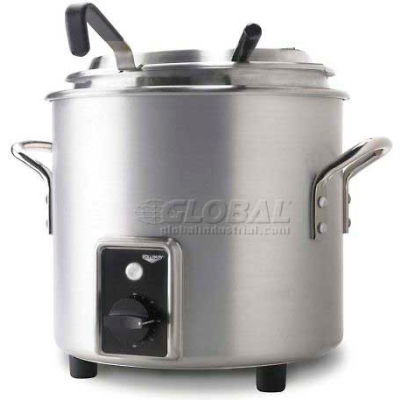 Vollrath, Retro Stock Pot Kettle Rethermalizer, 7217710, 7 Quart, Natural Finish