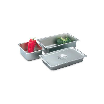 """Full Solid Cover For 16"""" Deli Pans - Pkg Qty 6"""