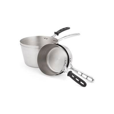 5-1/2 Qt Stainless Steel Pan With Plain Handle - Pkg Qty 4