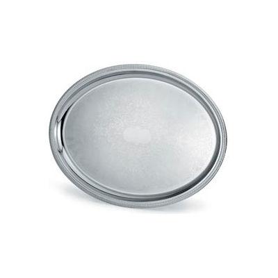 "Vollrath® Elegant Reflections™ Oval Tray - 21-3/4"" x 16"""