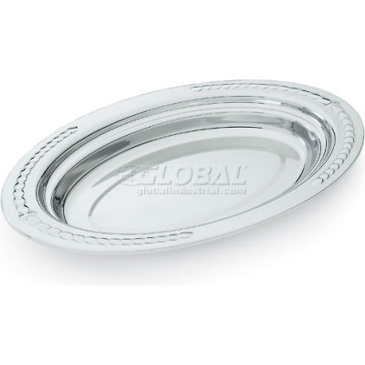 Stainless Steel 3 Qt Oval Food Pan
