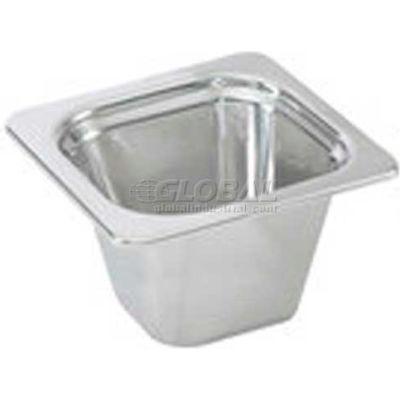 "Vollrath® Miramar Plain Pan, 8262205, 2-1/2"" Depth, Stainless Steel"
