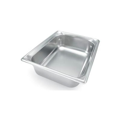 Vollrath® 1/2 Size Super Pan 3® 90242 Pan 100mm, 4d - Pkg Qty 6