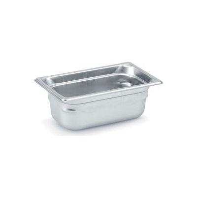 Vollrath® 1/4 Size Super Pan 3® 90482 Pan 200mm, 8d - Pkg Qty 3