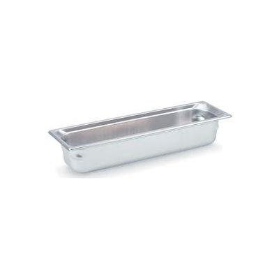 Vollrath® 2/4 Half-Long Super Pan 3® 90542 Pan 100mm, 4d - Pkg Qty 3