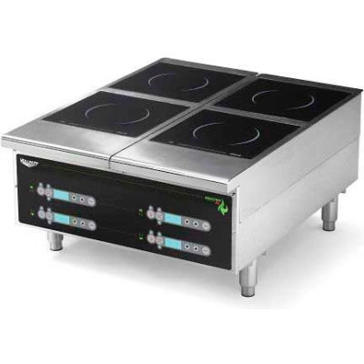 "Vollrath, Cayenne Heavy-Duty Induction Hot Plate, 924HIDC, Four-Hob Digital, 24"" X 13-5/8"" X 30"""