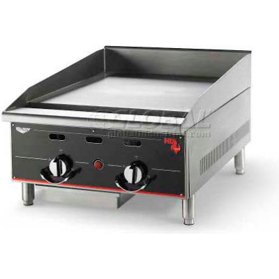 "Vollrath, Cayenne 36"" Heavy Duty Griddle, 936GGT, 3 Controls, 90000 BTU"
