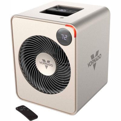 Vornado® Whole Room Heater W/ Remote, 120V, Silver, 1500 Watt
