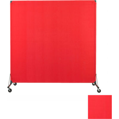 Portable Privacy Screen, VP6, Red