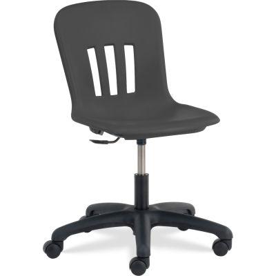 Virco® N9TASK18 Metaphor® Mobile Chair, Black Seat