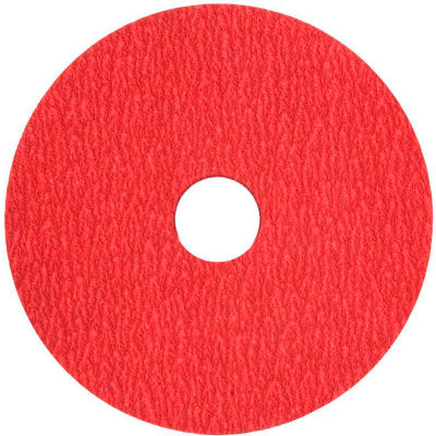 "VSM Resin Fiber Disc, 149135, Ceramic, 4 1/2"" X 7/8"", 50 Grit - Pkg Qty 50"