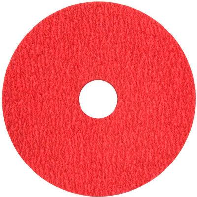 "VSM Resin Fiber Disc, 149150, Ceramic, 7"" X 7/8"", 40 Grit - Pkg Qty 50"