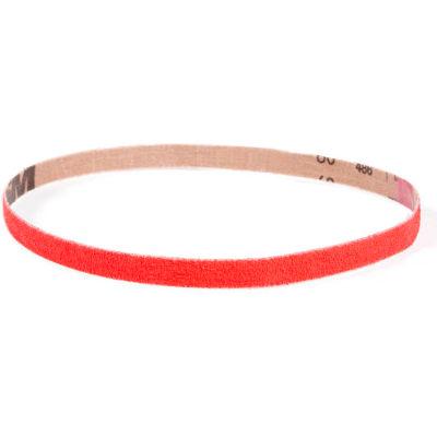 """VSM Abrasive Belt, 307816, Ceramic, 1/4"""" X 18"""", 100 Grit - Pkg Qty 20"""