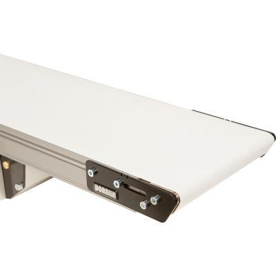 "Dorner 2200 Series Small-Medium Parts Handling Conveyor - Standard Belt 3' x 8"" - 70 Lb. Capacity"