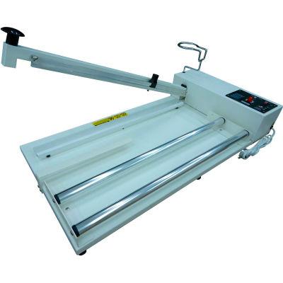 """Sealer Sales W-750IC 30"""" I-Bar Sealer w/ Sliding Cutter & Film Roller, 2.7mm Seal Width"""