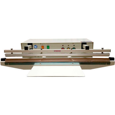 "Sealer Sales W-755AA 30"" Automatic Double Electromagnetic Impulse Sealer with 5mm Seal Width"