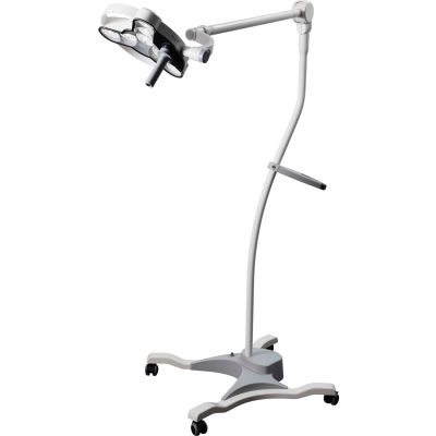 Waldmann D15174101 Traingo 1 LED Medical Treatment Light W/Rolling Stand & Wheel Lock