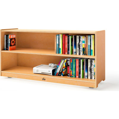 """Whitney Brothers 24"""" Tall Mobile Adjustable Shelf Cabinet"""