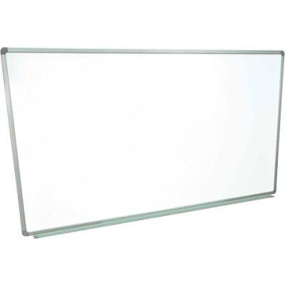 Magnetic Whiteboard - 72 x 48 - Steel Surface - Aluminum Frame